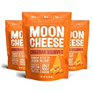 Moon Cheese - 100% Natural Cheese Snack - Cheddar - 2 oz - 3 Pack