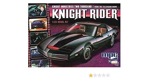 Maqueta el Coche Fantastico KITT 1982. Pontiac Firebird. Kit ...