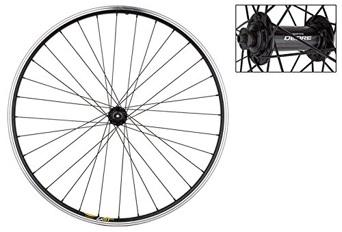 Wheel Front 26 x 1.5, Black, Mavic x M117, QR, Deore M530 Blk Hub, 2.0 Blk SS Spokes, 32H