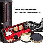 10 Pièces Kit de Cirage Kit d'entretien pour Chaussures Kit Nettoyage Chaussure avec Voyage Étui PU - Très complet… 8