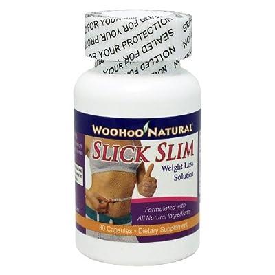Woohoo Natural Slick Slim Weight Loss Solution 30 Capsules