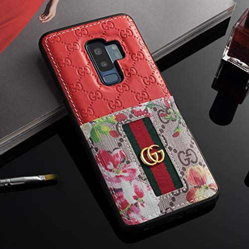 separation shoes c5de8 feb55 Galaxy S9 Plus Case- US Fast Deliver Guarantee FBA- Elegant Luxury PU  Leather Designer Case with Card Holder Slot Cover for Galaxy S9 Plus
