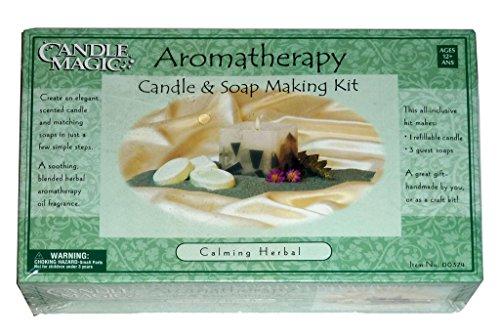 "Aromatherapy Candle & Soap Making Kit ""Calming Herbal"""
