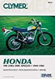 Honda 100-350cc OHC Singles, 1969-1982, Clymer Publications Staff and Penton Staff, 0892871849