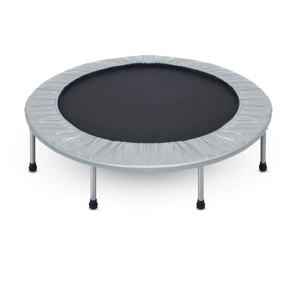 フィットネストランポリン、安全な屋内折りたたみミュートトランポリン、亜鉛メッキ春 :、大人の子供のスポーツ、耐えられる100KG、48インチ Gray (色 : イエロー Gray いえろ゜) B07MJ18FM9 Gray Gray, テシオグン:dc550768 --- krianta.com