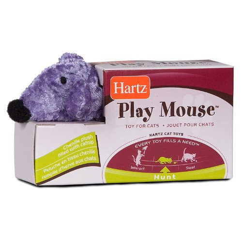 Hartz Play Mouse with Catnip Cat Toy, My Pet Supplies