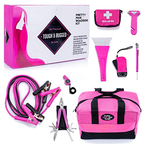 car accessories in pink - 5
