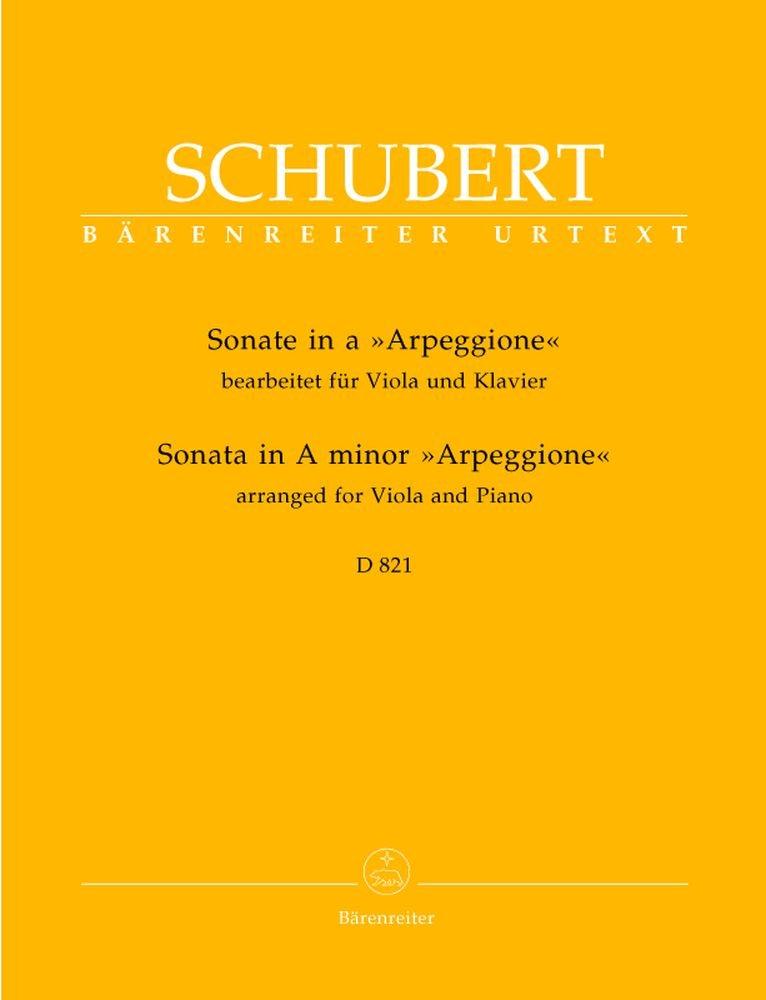 Sonate für Viola und Klavier a-Moll D 821
