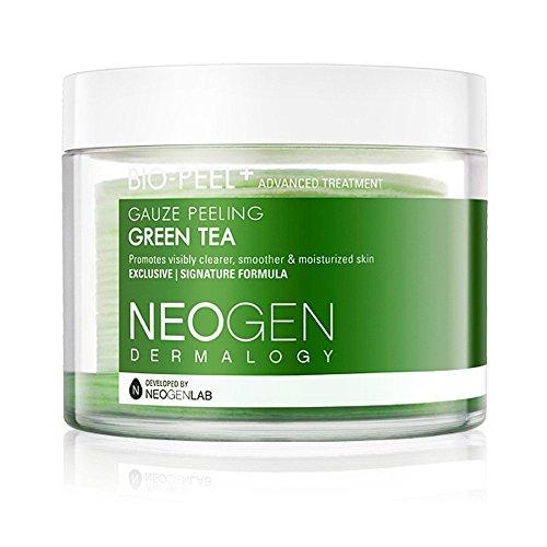 2017 New Version Neogen Dermalogy Bio-Peel Gauze Peeling (Green Tea-1 Pack) (Tea Pads Green)