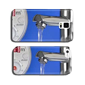 Water clock and Faucet cell phone cover case Samsung S6