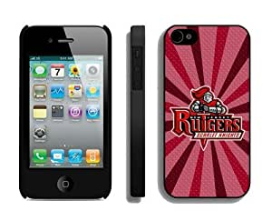 Cheap Best Iphone 4s Cover Ncaa Rutgers Scarlet Knights 04 Personalized Athletic Iphone 4 Cellphone Protective Case