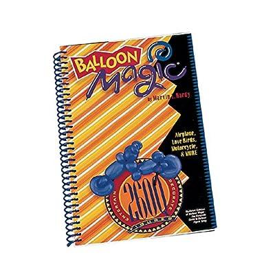 Qualatex 31953 Magic 260Q Figure Tying Balloon Animal Book, Large, Multicolor: Kitchen & Dining