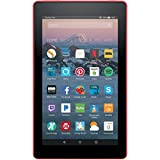 Fire 7 Tablet with Alexa, 7' Display, 8 GB, Punch Red - with Special Offers