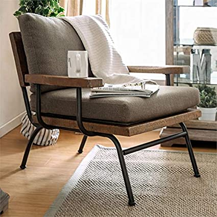 Excellent Amazon Com Furniture Of America Colette Accent Chair In Ocoug Best Dining Table And Chair Ideas Images Ocougorg