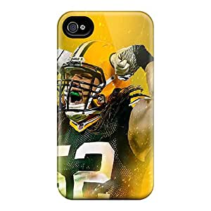 Scratch Resistant Hard Phone Case For Iphone 6 (dSI9971AYaQ) Unique Design High Resolution Green Bay Packers Pictures