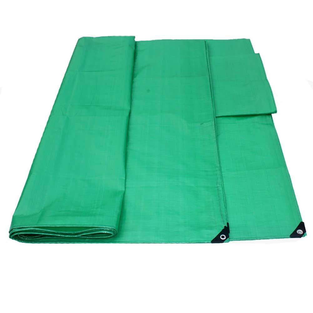 JNYZQ Grüne Wasserdichte Plane Faltbare Sonnencreme Plane Staubdicht LKW Abdeckung Regen Abdeckungen Zelte Camping Sonnenschutz (größe   3m×4m)