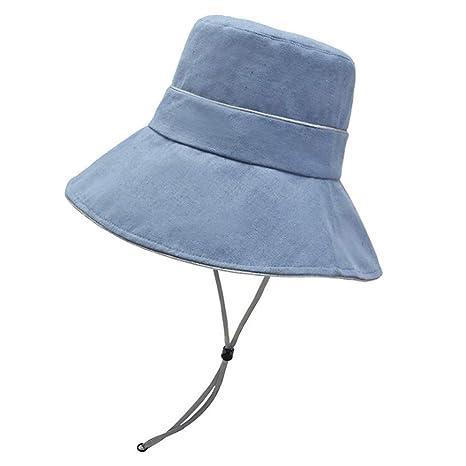 HUOLIMAO Sombrero De Cubo De ala Ancha Gorras De Pescador ...