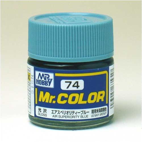 Mr.カラー C74 エアスペリオリティーブルー