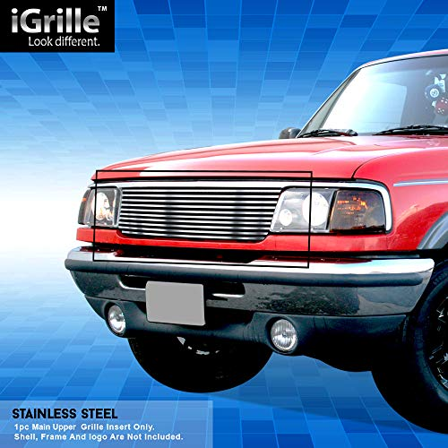 Off Roader Stainless Steel eGrille Billet Grille Grill for 1993-1997 Ford Ranger 2WD Insert