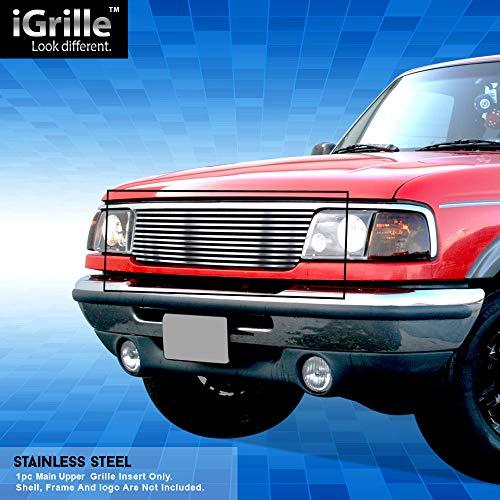 Off Roader Stainless Steel eGrille Billet Grille Grill For 1993-1997 Ford Ranger 2WD Insert
