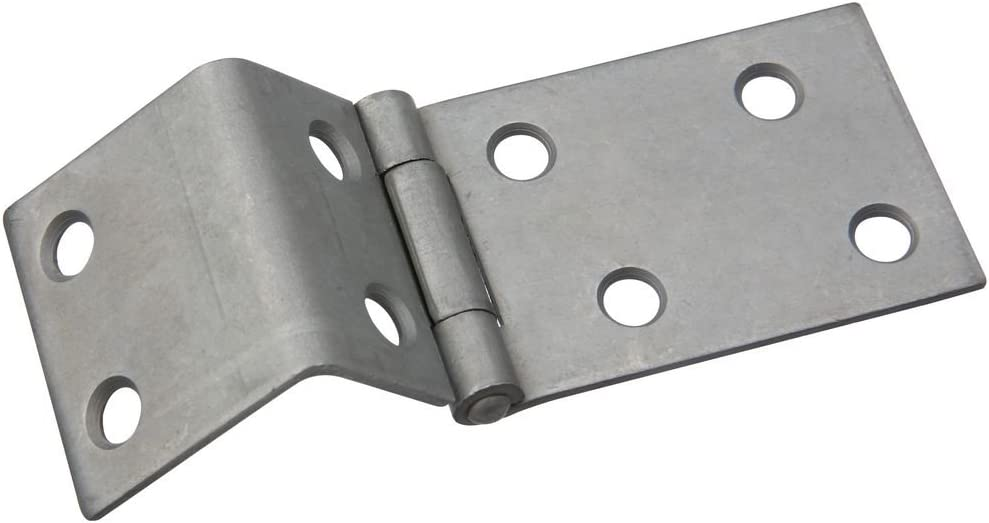 National Hardware N147-132 550 Chest Hinge in Plain Steel