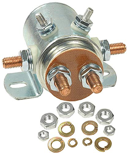 LActrical New Continuous Duty Solenoid For Golf Cart Marine Industrial Winch 24 Volt 6 Term 70-6918