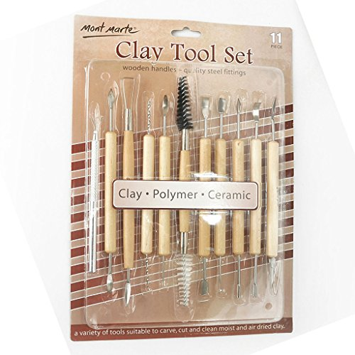 - Mont Marte Clay Tool Set 11pce