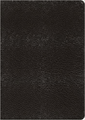 ESV Heirloom Study Bible (Goatskin, Black): David Murray