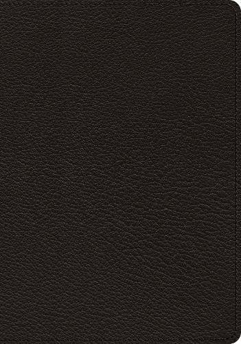 - ESV Heirloom Study Bible (Goatskin, Black)