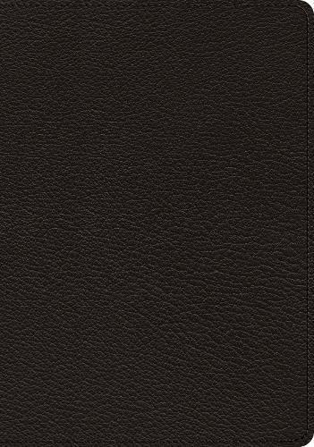 - ESV Heirloom Study Bible (Goatskin, Black)