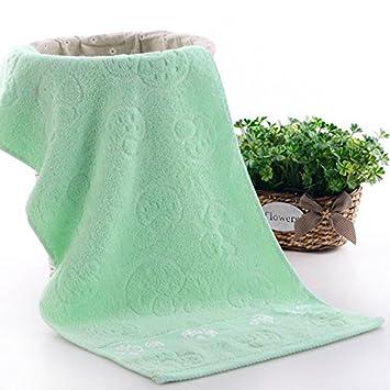 Algodón Egipcio grandes toallas de mano de Juego, cuarto de baño toalla mano regalo para el lujo Diario, pesado peso de 33 cm x 73 cm (verde): Amazon.es: ...