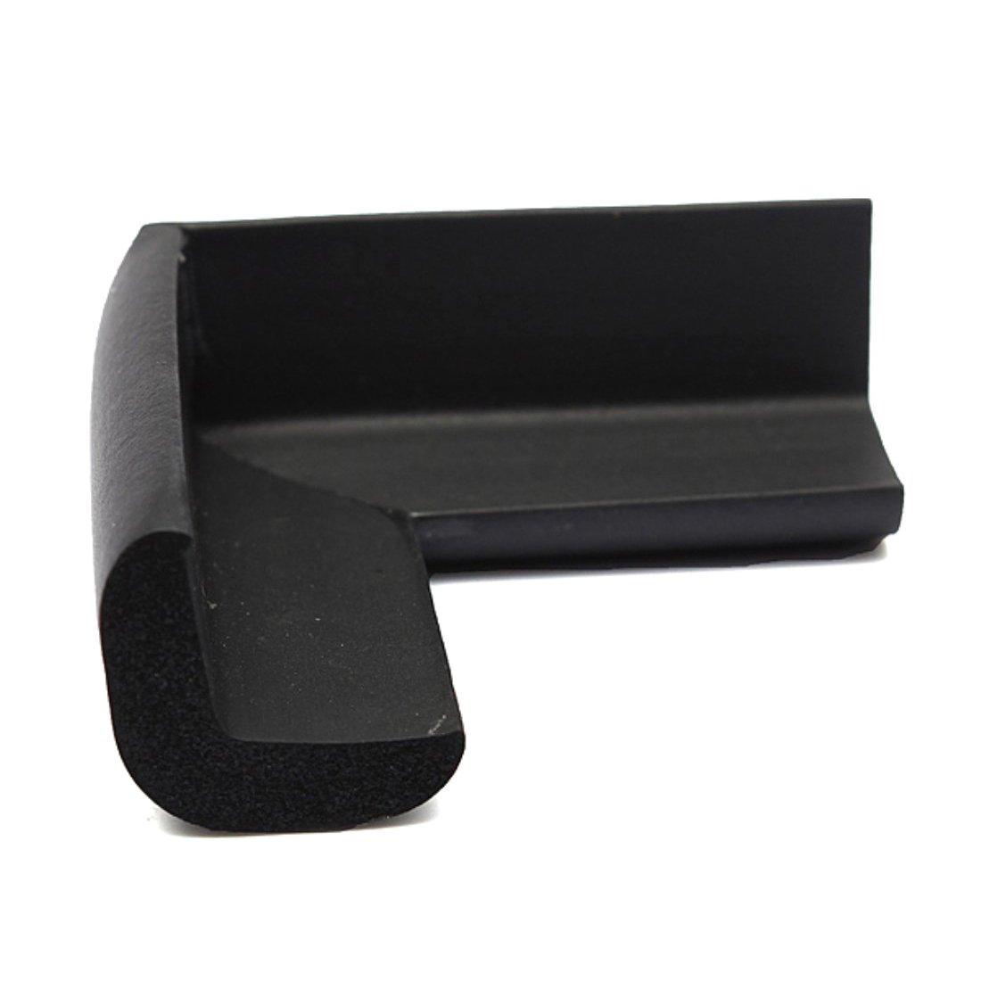 WOVELOT Protection des bords des meubles Protection de coin de table anti collision Bande de securite doux anti Noir collision pour les bebes