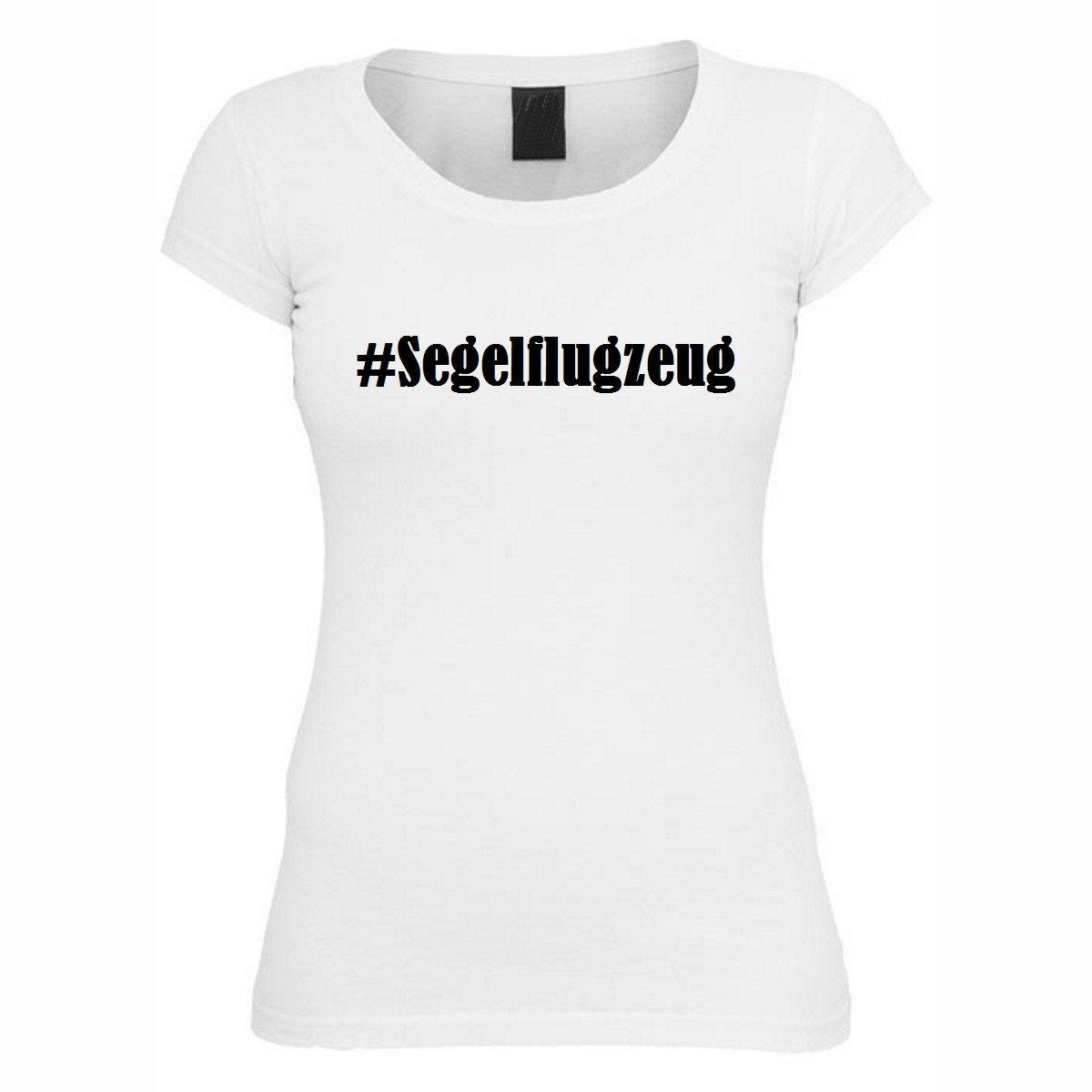 T-Shirt #Segelflugzeug Hashtag Raute für Damen Herren und Kinder ... in den Farben  Schwarz und Weiss: Amazon.de: Bekleidung