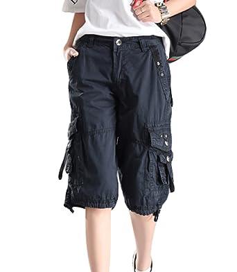 1b059b3b4f48f1 YouPuer Damen Multifunctions Combat Cargo Shorts Mehrteilige Outdoor  Trekkinghose für Camping Bergsteigen Shorts: Amazon.de: Bekleidung