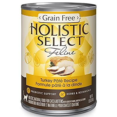 Holistic Select Natural Grain Free Wet Canned Cat Food