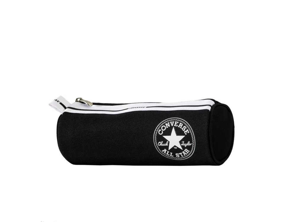 65ebb55a6288 Converse Pencil Case Round Black  Amazon.co.uk  Office Products