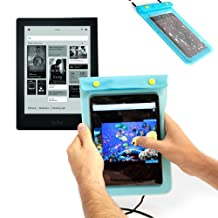 DURAGADGET Black Water Resistant All Purpose Protective E-Reader Carry Case With Neck Strap For Ebook-Reader iRiver Story HD WiFi, Ebook-Reader PocketBook Touch 622, 6 Zoll, Kobo Aura HD, Pearl Elonex 621EB, BeBook Pure