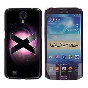 YiPhone /// Prima de resorte delgada de la cubierta del caso de Shell Armor - X - Samsung Galaxy Mega 6.3 I9200 SGH-i527
