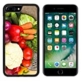 MSD Premium Apple iPhone 7 Plus Aluminum Backplate Bumper Snap Case IMAGE 30589445 Fresh vegetables on wooden table close up