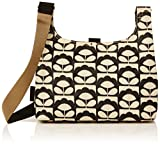 Orla Kiely Spring Bloom Mini Sling Bag, Charcoal