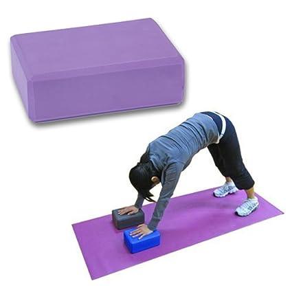 niceEshop(TM Yoga Bloque Ladrillo Espuma Casa Ejercicio Pilates Herramienta Extiende Ayuda