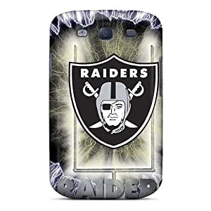Samsung Galaxy S3 TEy10456AGmO Support Personal Customs Trendy Oakland Raiders Skin Perfect Hard Phone Covers -RobAmarook