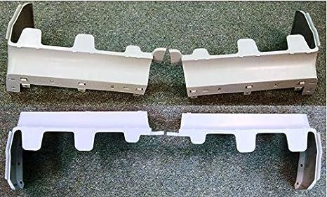 ECOTRIC Bumper Filler Set Fiberglas 4PCS For 1981-1987 Buick Regal Grand National T-Type-Regal