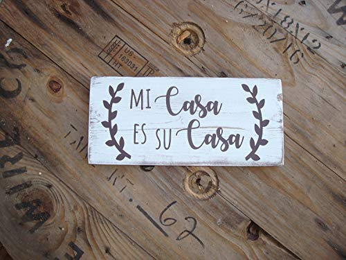 qidushop Home - Cartel Decorativo de Madera con Texto en ...