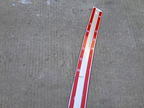 Cubierta trasera puerta moldura de acero inoxidable 1/pieza de ajuste para coche accesorios
