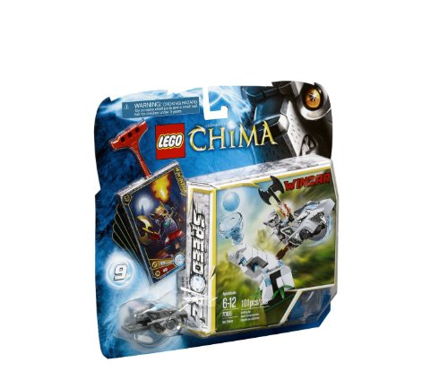 with LEGO CHIMA design