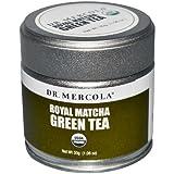 Dr. Mercola Royal Matcha Green Tea - USDA Certified Organic - 30g