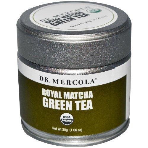 Dr. Mercola Royal Matcha Green Tea - USDA Certified Organic - 30g - Mercola Matcha Green Tea Powder