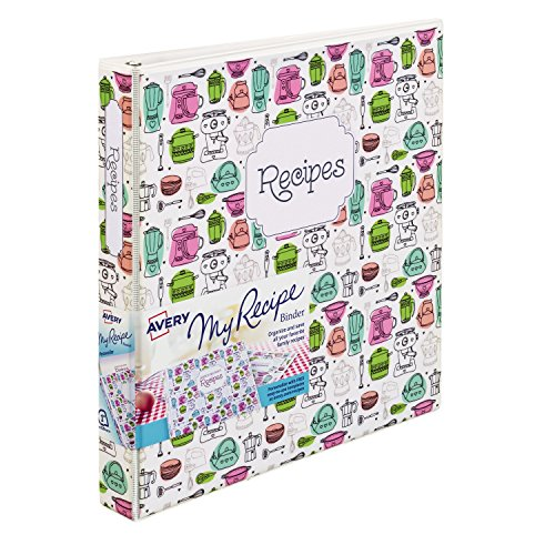 (Avery My Recipe Durable Binder, Extra Wide 1