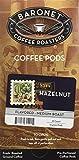 baronet coffee pods - Baronet Coffee Hazelnut Coffee Pods Box, 54 Count